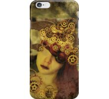The clockwork tells me what to see iPhone Case/Skin