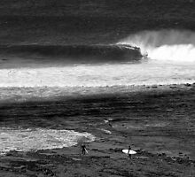 Empty wave... by Jarrod Lees