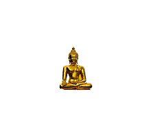gold buddha by dwinig05