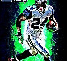 NFL Seattle Seahawks by Dan Snelgrove