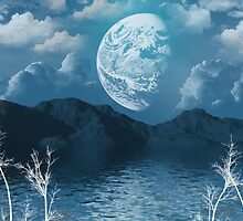 Once In A Blue Moon by Maria Dryfhout