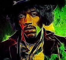 Jimi Hendrix by BritishYank