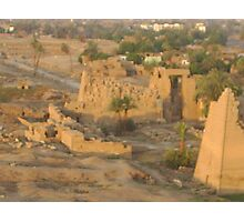 LUXOR FROM THE AIR Photographic Print