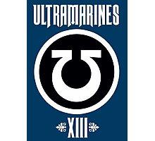 Ultramarines XIII - Warhammer Photographic Print