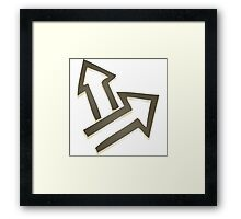 Glitch Quest quest symbol normal lem 01a treehousequest1 Framed Print