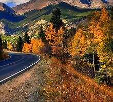 The Roads of Autumn by John  De Bord Photography