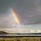 Lake Nakuru rainbow by Sharon Bishop