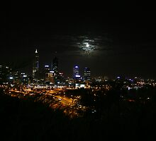 Perth City and the Spooky Moon by Dors