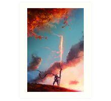 Autumn Lancer Art Print
