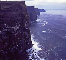 The Cliffs Of Moher  by Carl Gaynor