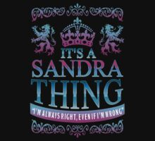 It's a SANDRA thing by RooDesign