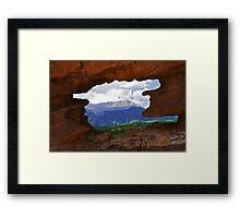 Nature's Window Framed Print