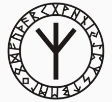 Algiz Rune - Connection with Asgard / Protection by nitty-gritty
