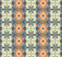 Earth Tones Pattern by Phil Perkins