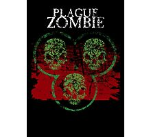 Plague Zombie Photographic Print