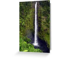 Falling to Perfection Greeting Card