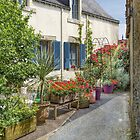 Rochefort-en-Terre, Brittany, France by Elaine Teague