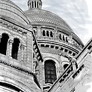 Sacre Coeur IV Pen and Ink by shane22