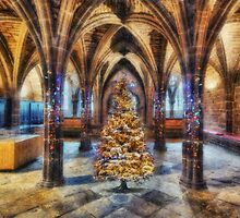 Christmas Cathedral by Ian Mitchell