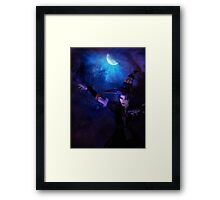 Mystic Night and Witch Framed Print