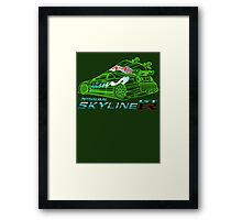 Custom Nissan Skyline GTR New  Framed Print