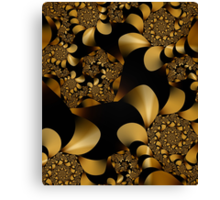 The golden snake Canvas Print