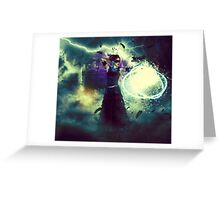 Swamp Witch 3 Greeting Card