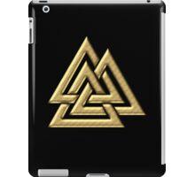 Walknut / Valknut - Wotan's Knot / Odins Knot iPad Case/Skin