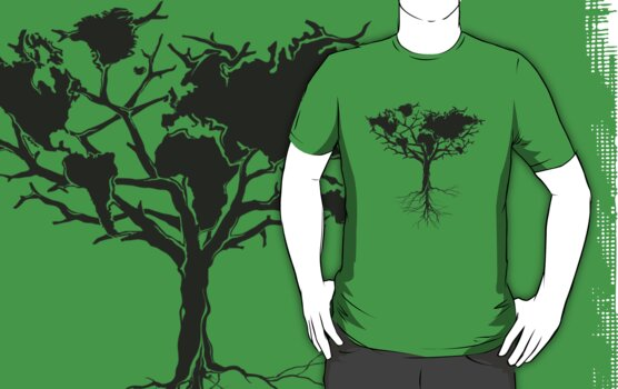 Earth tree *dark green edition by yanmos