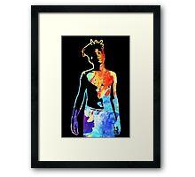 Jean-Michel Basquiat Splatter  Framed Print