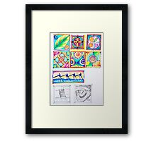 do color series I Framed Print