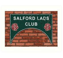 The Smiths Salford Lads Club Art Print