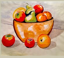 Fruit Bowl by Tracey Read