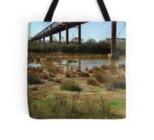 Argibuckle Bridge, Oodnadatta Track,Outback South Australia Tote Bag