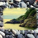 Georgia Beach, British Columbia by Larry Llewellyn