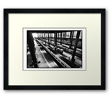Atoche Train Station Madrid A to B Framed Print