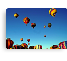 I love the sky! Canvas Print
