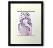 The Wisdom Framed Print