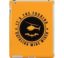 Step Brothers - Catalina Wine Mixer - Logo iPad Case/Skin