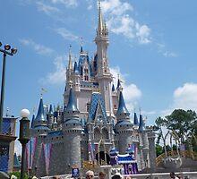 Cinderella Castle by Attractions Merch Museum