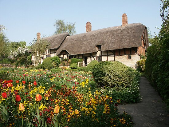 Ann Hathaway's Cottage Stratford Upon Avon by Tony Jones