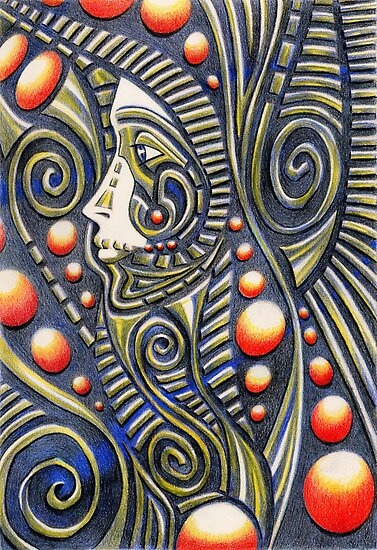 Tribal Spirit by Deborah Holman