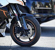 motorcycle in motion  by mrivserg