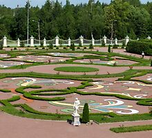 view on a regular garden by mrivserg