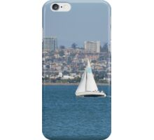 San Diego Bay ~ Great Day For Sailing iPhone Case/Skin