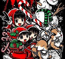 Kiddie Christmas Sleigh Ride by Crab-Metalitees