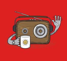 Radio Waves Good Morning Kids Clothes