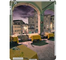 Dinner at Il Logiotto iPad Case/Skin