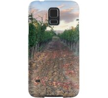 Vineyard in Tuscany Samsung Galaxy Case/Skin