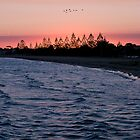 Altona beach sunset, Easter 2007 by kraftyman